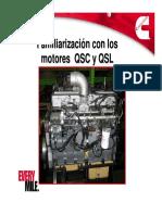 Apresentação - Motores QSC e QSL