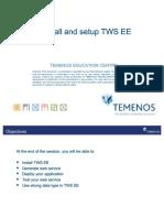 TWS – Install and Setup TWS EE