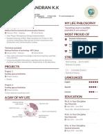 Subhash's CV