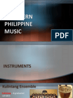 Southern Philippine music