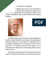 New Government in  Karnataka