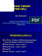 Aplikasi Terapi Stem Cell (25/4/2010)