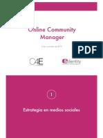 Estrategia y Dinamizacion en Web Social. Curso C4e