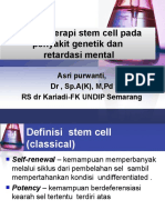 Aplikasi Terapi Stem Cell Pada Penyakit Genetik