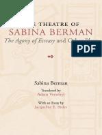The theater of Sabiba Berman