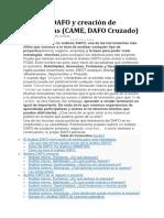 Análisis DAFO y Creación de Estrategias