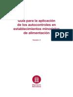 Guía Para La Aplicación de Los Autocontroles en Los Establecimientos Minoristas de Alimentación