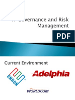 IT Governance and Risk Management