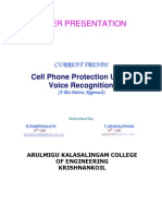Cell Phone Protection-biometric