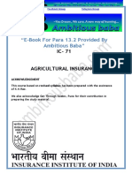 IC 71 Agricultural Insurance