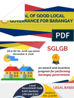 SGLG for Barangay
