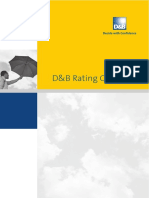 D&B Rating Guide