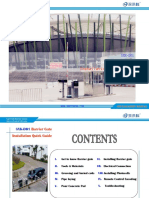 SXK-D01 Barriergate Installation Manual