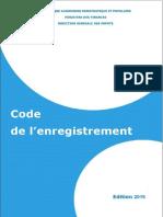 CODE DE L'ENREGISTREMENT ANNEE 2019.pdf