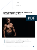 Core Strength Road Map_ 4 Weeks to a Shredded & Strong Core