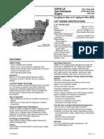 Data Sheet CAT-G3616