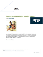 Samson and Delilah (the Israelite Woman) _ With Meagre Powers.pdf