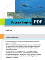Insulation Thickness in Subsea Flowline