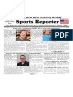 July 31 - August 6, 2019  Sports Reporter
