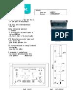 Kenek VM2201 Manual