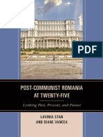 Lavinia Stan, Diane Vancea - Post-Communist Romania at 25
