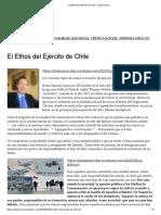 El Ethos Del Ejército de Chile – Chile Merece