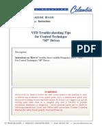 VFD Trouble-Shooting Tips SP Drives Rev4-1