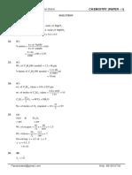 Chemistry P1&2 Mock Test 1 Sol PKB