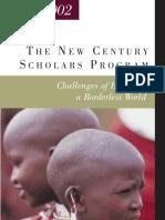 Fulbright New Century Scholars Program 2001- 2002