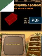 Pertemuan X Volume Prisma