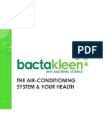 Bactakleen Presentation About Air Cond and Health