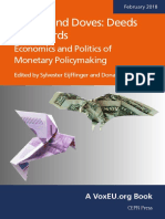 Deeds and Words Economics and Politics of Monetary Policymaking