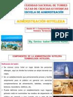Administración Hotelera - Sesión N_ 1