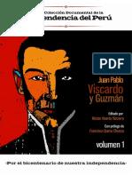 Vida y obra de Juan Pablo Viscardo y Guzman