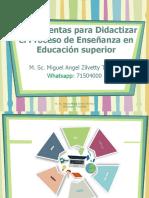 Herramientas Para Didactizar El Proceso de Enseñanza Aprendizaje