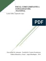La Regla fiscal como limitante a la discrecionalidad del Gobierno Nacional.pdf