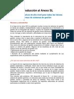 UNIDAD 2 TERMINOS Y DEFINICIONES . Introducción Al Anexo SL - Nueva Estructura Para Normas SIG