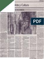 Un sudamericano en París (Juan Carlos Zeballos Moscairo)