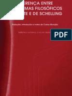 HEGEL - Diferença entre os Sistemas Filosóficos de Fichte e de Schelling