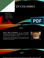 DDT en Colombia