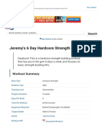 Jeremy's 6 Day Hardcore Strength Workout _ Muscle & Strength