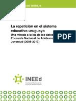 La Repeticion en El Sistema Educativo Uruguayo