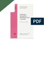 Libro Evoluciones Demograficas