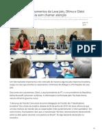 2019_JUN. Dias Antes Dos Vazamentos Da Lava Jato, Dilma e Gleisi Estiveram Na Rússia