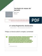 Notas de _ Psicología de Masas Del Fascismo