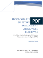 Jost - Ideología Política Su Estructura, Funciones y Afinidades Electivas