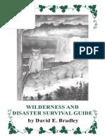Wilderness Disaster Book New