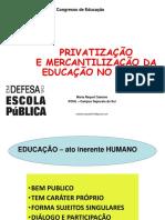 privatização e mercantilização da educação