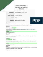 Evaluación Unidad 4