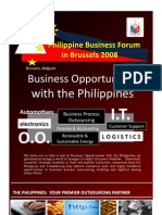 Briefer PBF Brussels 2008